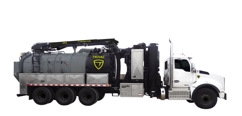 hydro vacuum truck