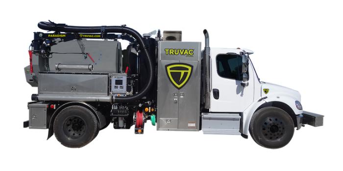 Paradigm TRUVAC hydro vacuum truck