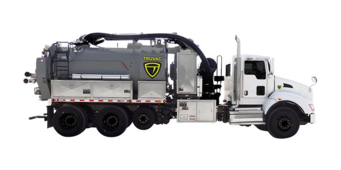 Prodigy TRUVAC hydro vacuum truck