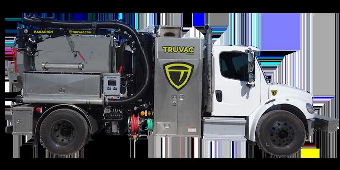 Paradigm hydro vacuum truck