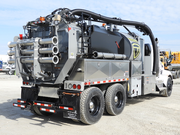 Prodigy hydro vacuum truck for sale