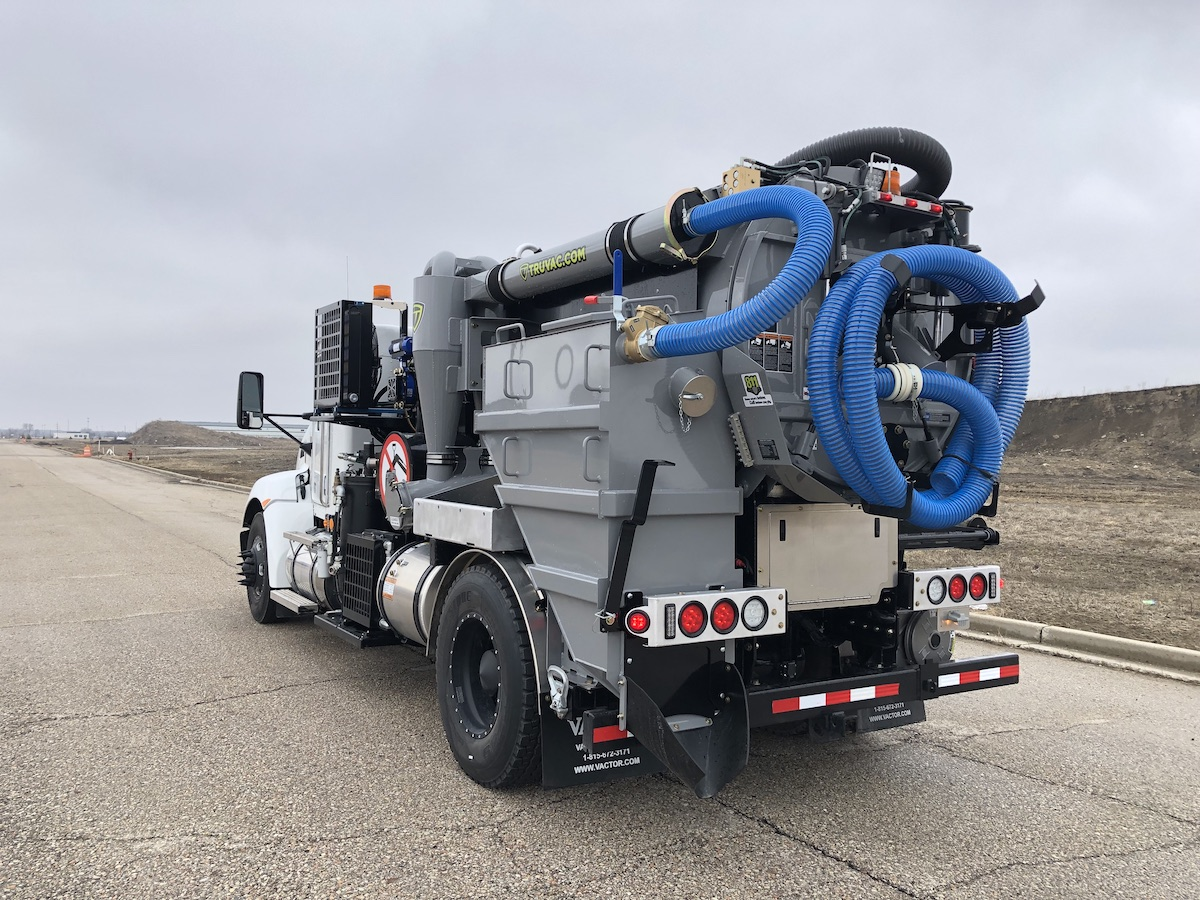 TRUVAC hydrovac truck for sale